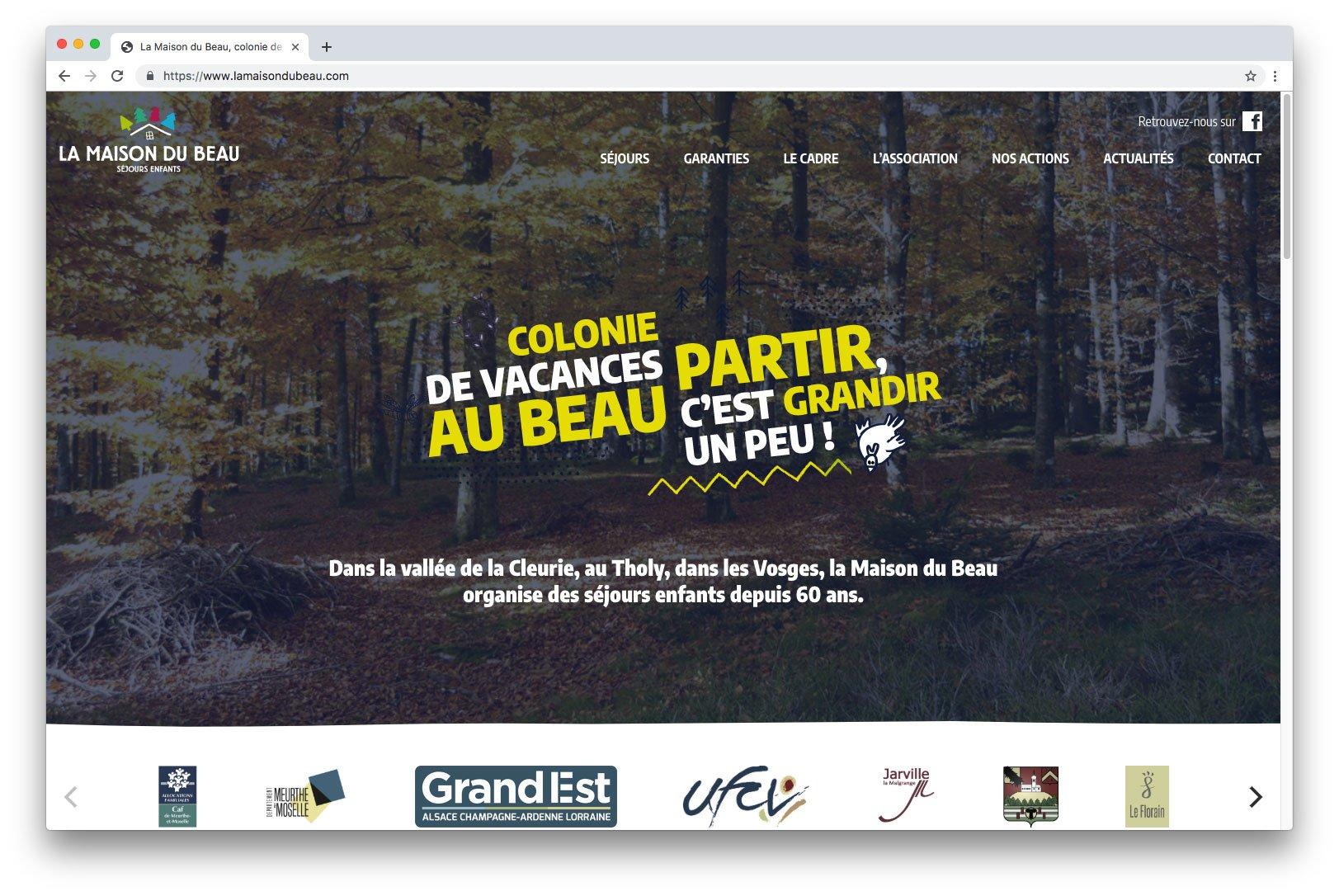 site web la maison du beau